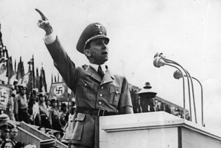 Joseph Goebbels (Keystone)
