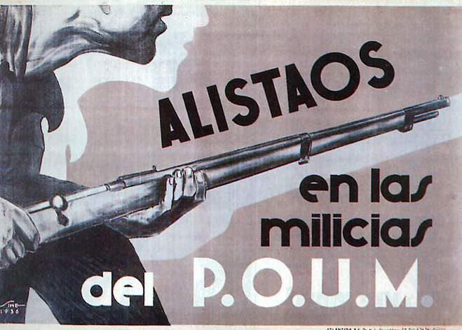 ALISTAOS en las milicias del POUM