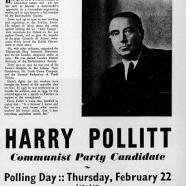 Harry Pollitt CPoGB archives