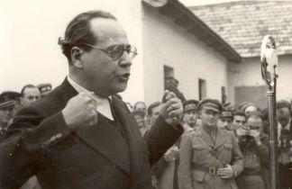 Juan-Negrin visita el frente del Ebro en 1938 ARCHIVO FUNDACIÓN JUAN NEGRIN