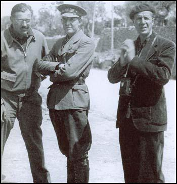 Orwell Ernest Hemingway, Hugh Slater and Herbert Matthews Spartacus Educational