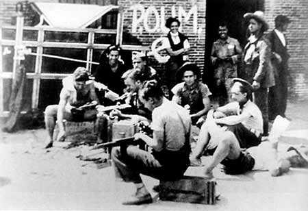 Orwell etchebehere05 Voluntarios internacionales en las milicias del POUM. Andy Durgan