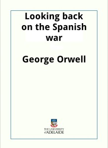Orwell looking back