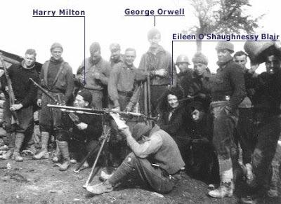 Orwell Voluntarios internacionales en las milicias del POUM. Andy Durgan